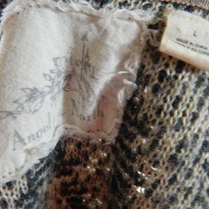 Anthropologie Sweaters - Angel of the North Equinox Chevron Cardigan